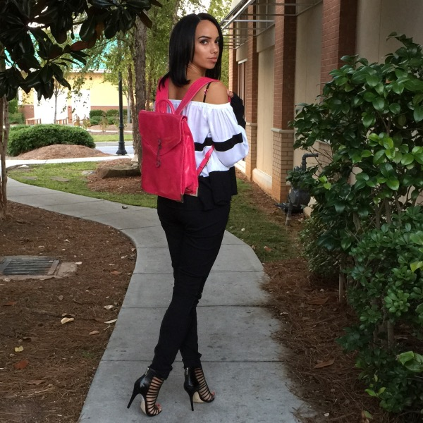 Pop Of Pink With LANY Handbags | MissCharmsie com