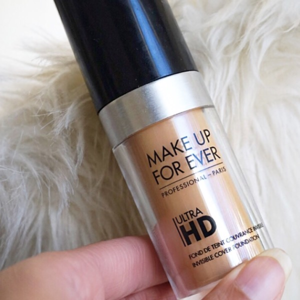 MAKE UP FOR EVER ULTRA HD INVISIBLE FOUNDATION REVIEW ...